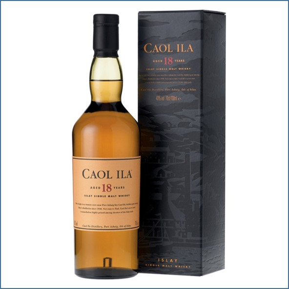Caol Ila 18 Year Old  Old Bottling 70cl 43%