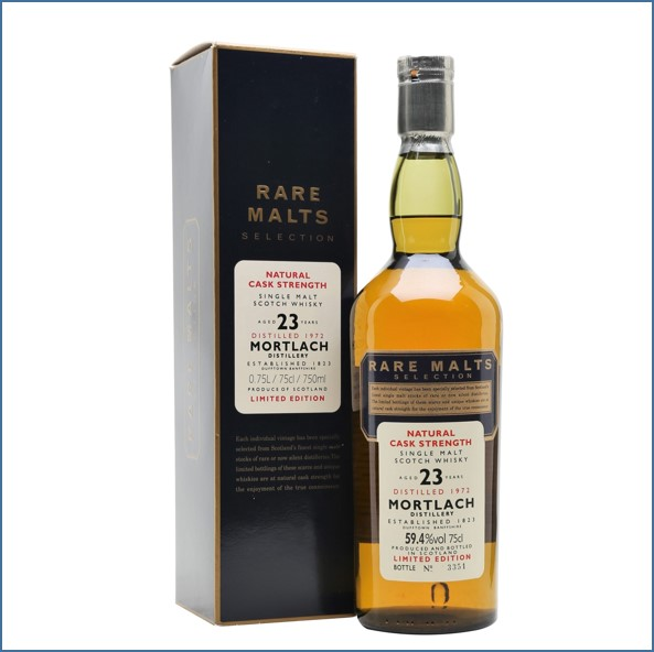 Mortlach 23 Year Old 1972 Rare Malts 75cl 59.4%