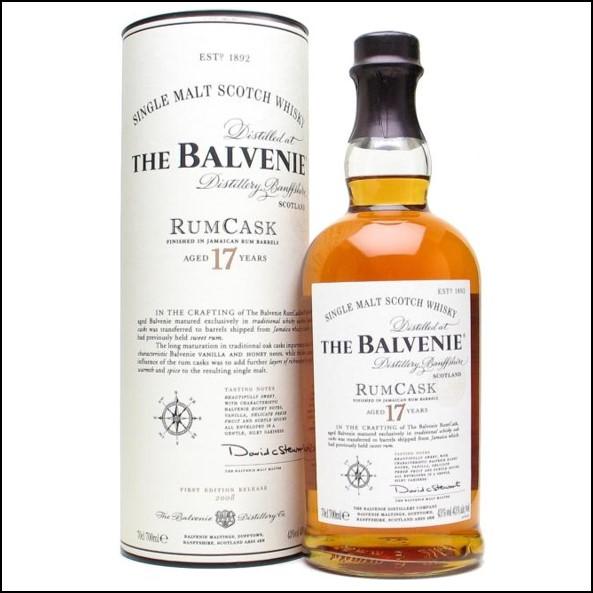 The Balvenie Rum Cask 17 Year Old