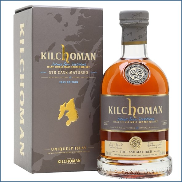 Kilchoman 2019 7 Years Old STR Cask Matured 2012 Edition 70cl 50%