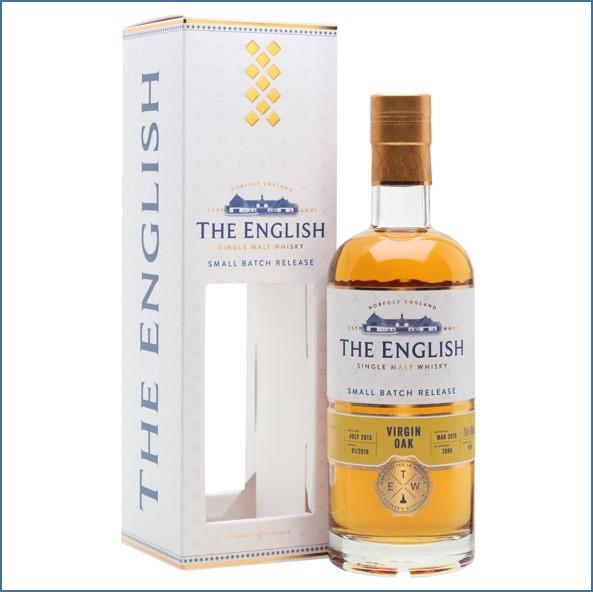 The English Small Batch Virgin Oak 2013 Bot.2019 70cl 46%