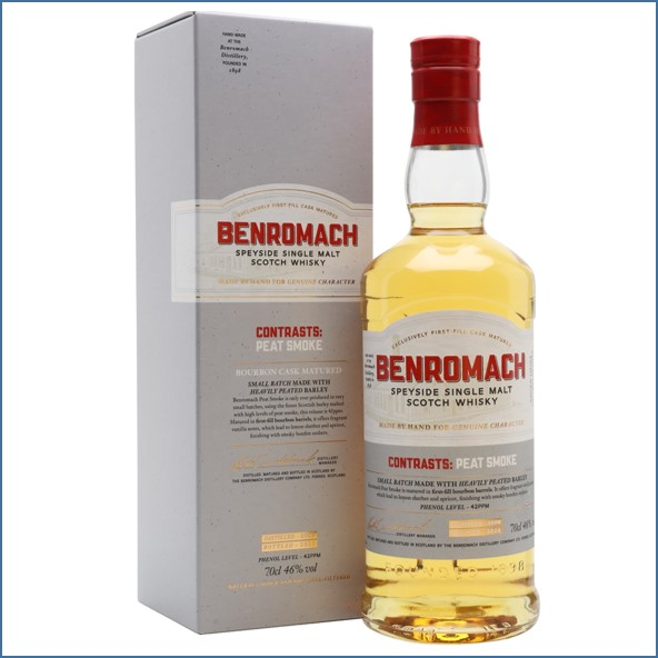 Benromach Contrasts Peat Smoke 2009 Bot. 2020 70cl 46%