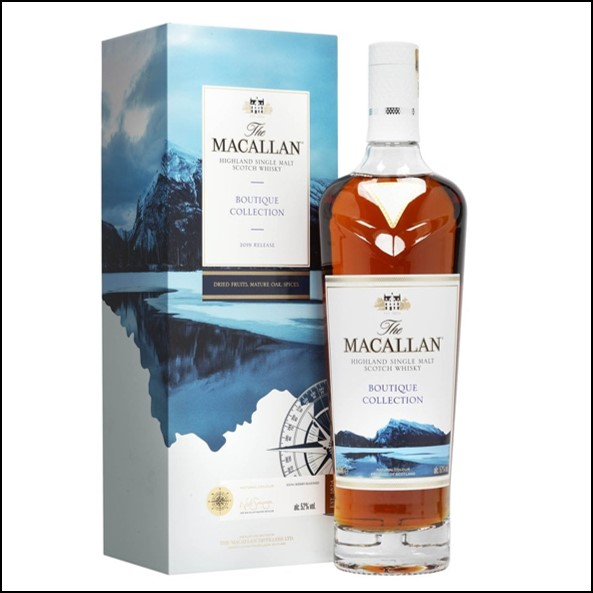 收購麥卡倫原酒 Macallan Boutique Collection  2019 Release 70cl 52%
