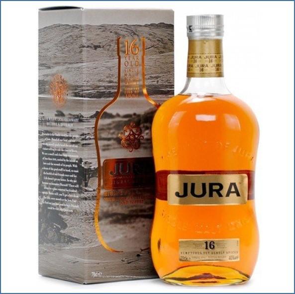 Isle of Jura 16 Year Old Island Single Malt Scotch Whisky 70cl 40%