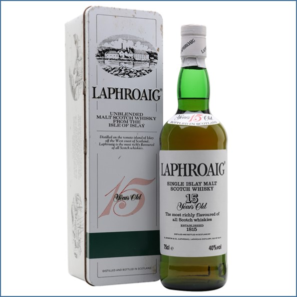 Laphroaig 15 Year Old Bot.1980s 75cl 40%