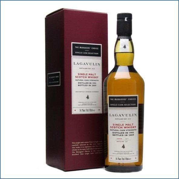 LAGAVULIN 15 Year Old Managers Choice Sherry Cask 1993 Bot.2009 70cl 54.7% 拉加維林15年收購