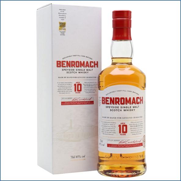 Benromach 10 Year Old Speyside Single Malt Scotch Whisky 70cl 43%