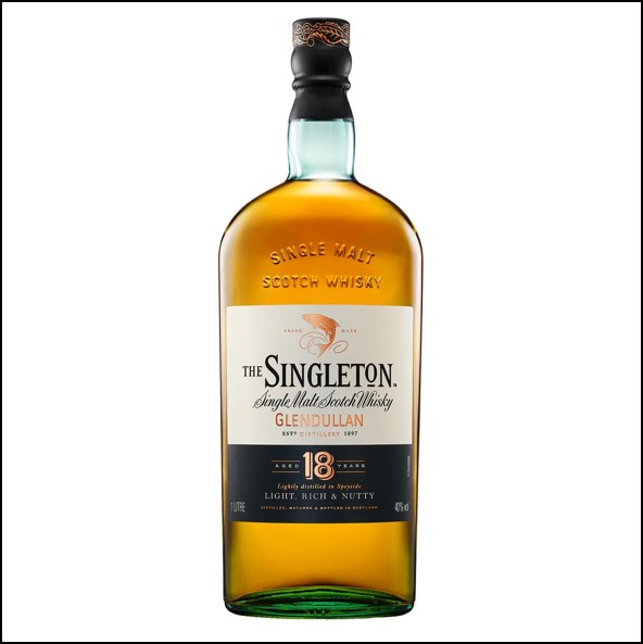 The Singleton of Glendullan Ord 18-year-old 70cl 40%  蘇格登18年收購