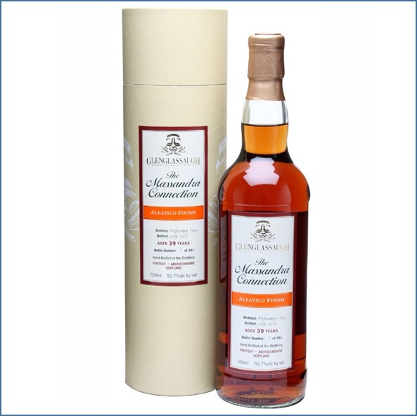 Glenglassaugh 1973 39 Year Old Aleatico Finish Highland Single Malt Scotch Whisky 70cl 50.7%
