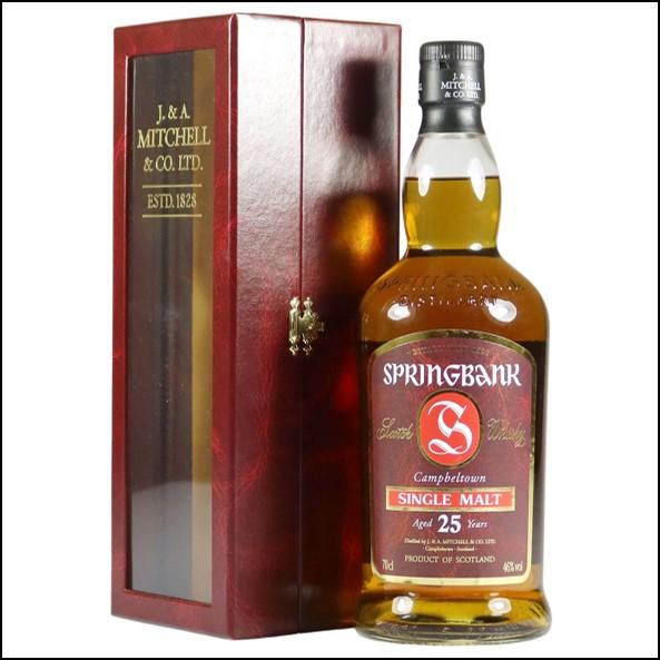 雲頂威士忌25年收購/Springbank 25 Years Old 1981 2006 Red Campbeltown Single Malt Scotch Whisky 70cl 46%
