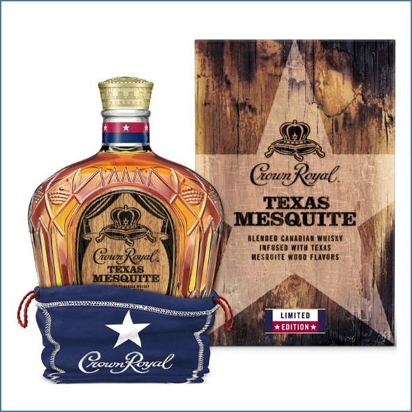 Crown Royal Texas Mesquite 70cl 40%