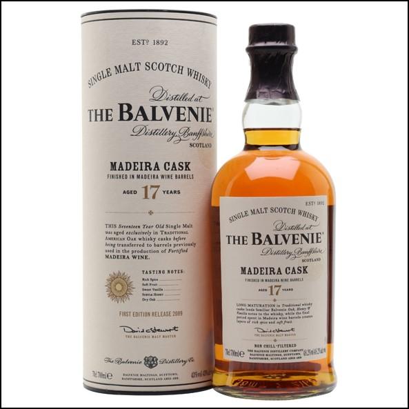 Balvenie 17 Year Old Madeira Cask 70cl 48.2%