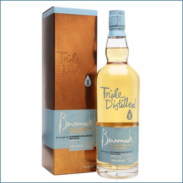 收購百樂門威士忌,百樂門威士忌收購, Benromach 2009 Triple Distilled Bot.2017 70cl 50%