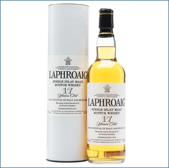 Laphroaig 17 Year Old Islay Festival 2004 70cl 55.2%