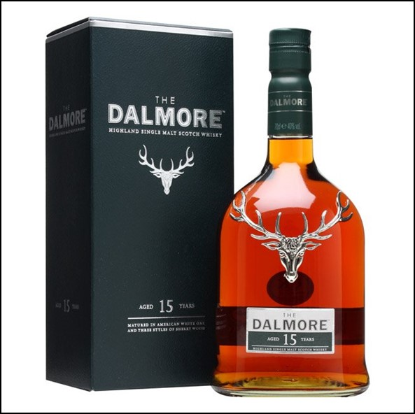 DALMORE 15 YEAR OLD 70cl 40%  大摩15年威士忌收購