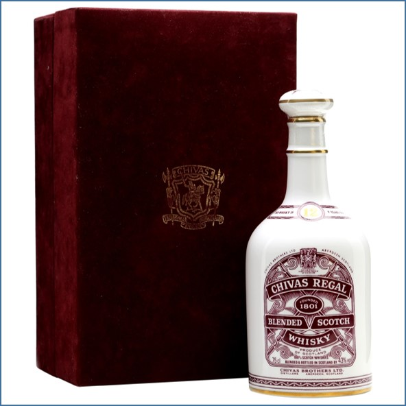 Chivas Regal 12 Year Old Grand National Decanter Blended Scotch Whisky 75cl 43%