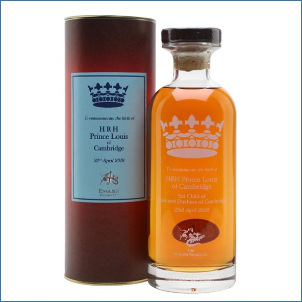The English Whisky Co. HRH Prince Louis of Cambridge Whisky 70cl 46%