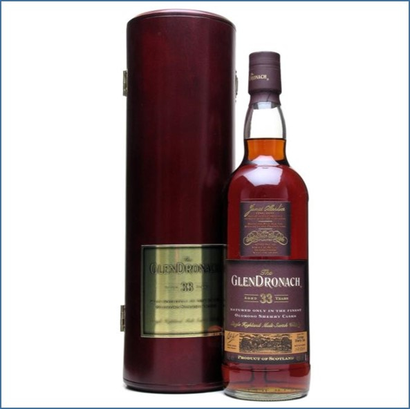 Glendronach 33 Year Old Sherry Cask 75cl 40%