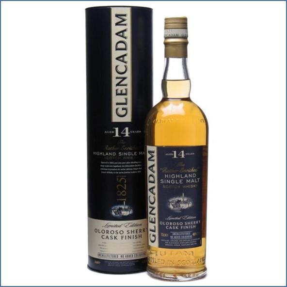 Glencadam 14 Year Old Oloroso Sherry Finish 70cl 46%