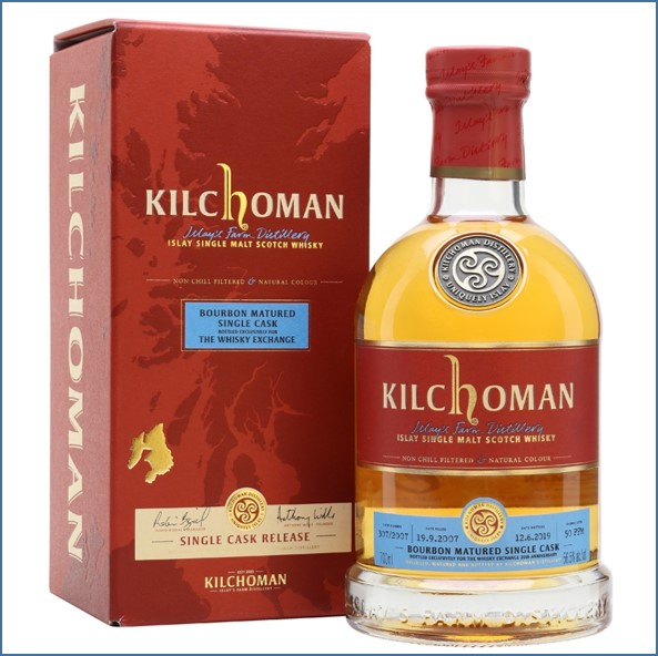 Kilchoman 2019 11 Year Old TWE Exclusive 2007 70cl 56.5%
