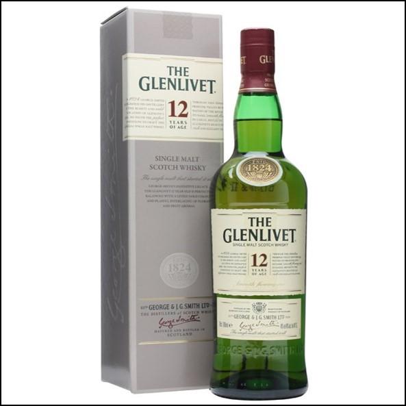 GLENLIVET 12 YEAR OLD 70cl 40%2