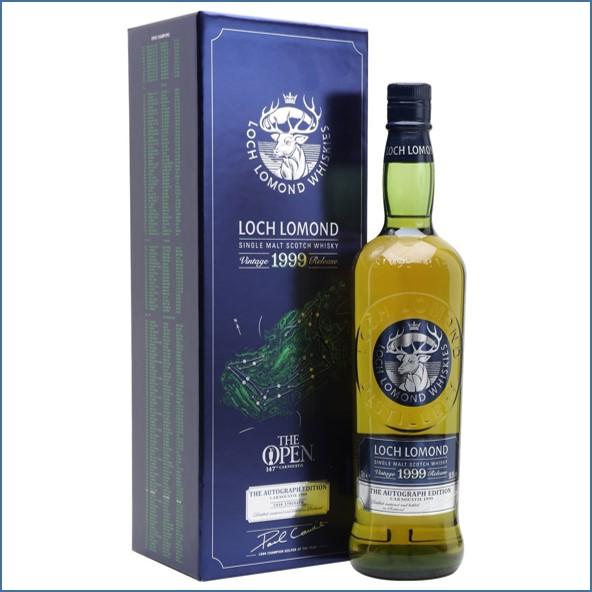 Loch Lomond 1999 Cask Strength Paul Lawrie Autograph Edition 70cl 50.8%