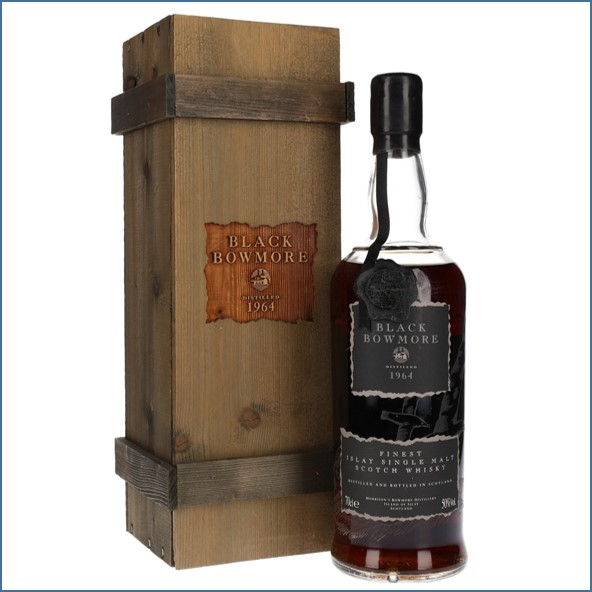 Black Bowmore 1964 29 Year Old 1st Edition 70cl 50%