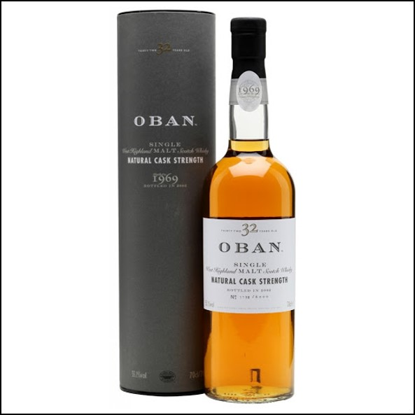 Oban 1969 32 Year Old 2002 70cl 55.1%