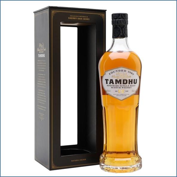 Tamdhu 12 Year Old Sherry Cask 70cl 46%