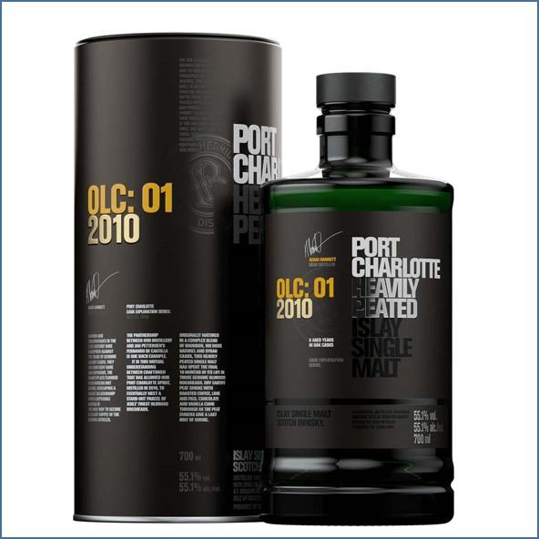 Bruichladdich Launches Port Charlotte OLC 01 2010 70cl 55.1%