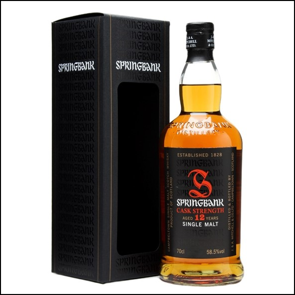 雲頂12年原酒威士忌收購/Springbank 12 Year Old Cask Strength 1-13 Campbeltown Single Malt Scotch Whisky 70cl