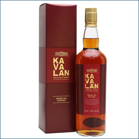 Kavalan Sherry Oak Taiwanese Single Malt Whisky 70cl 46%