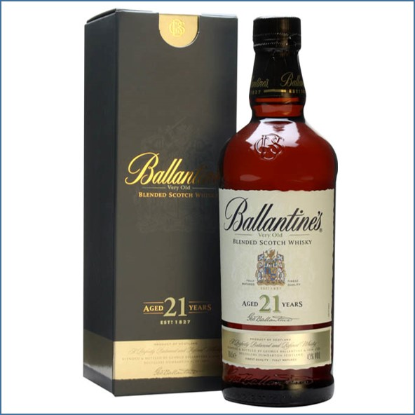 Ballantine's 21 Year Old Blended Scotch Whisky 70cl 40%