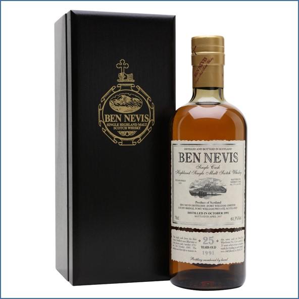 Ben Nevis 25 Year Old 1991 70cl 61.3%