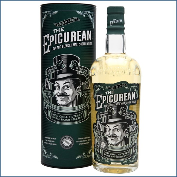 The Epicurean Douglas Laing Lowland Blended Malt Scotch Whisky Douglas Laing 70cl 46.2%