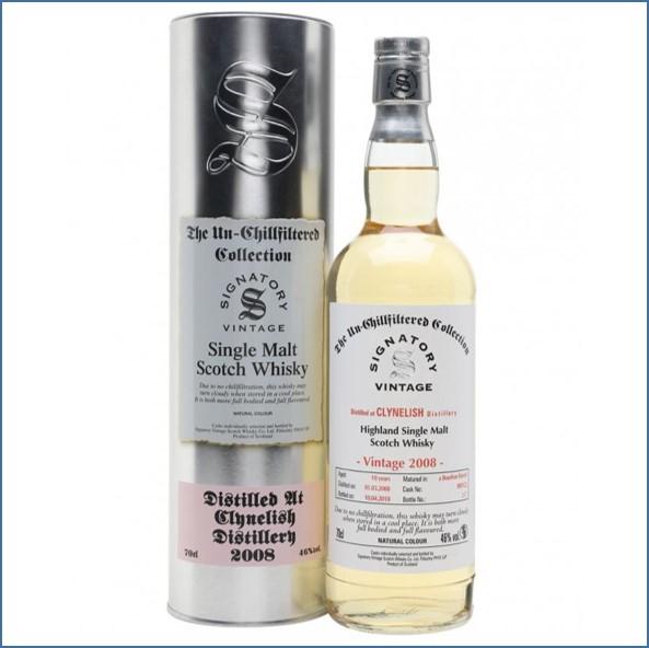 Clynelish 2008 10 Year Old 2018 Signatory Highland Single Malt Scotch Whisky 70cl 46%