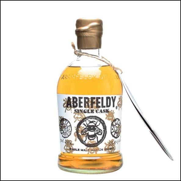 Aberfeldy 21 Year Old Single Malt Scotch Whisky 70cl 55.3% 1991 Bee Label  收購艾伯迪21年 1991