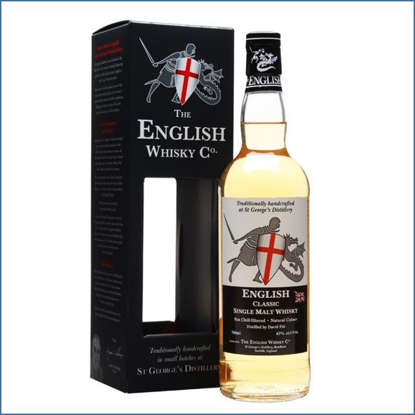 The English Whisky Co. Classic 70cl 43%英吉利 Classic  經典