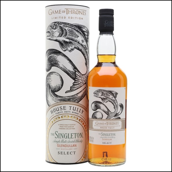 The Singleton Glendullan Reserve Game of Thrones House Tully 70cl 40%