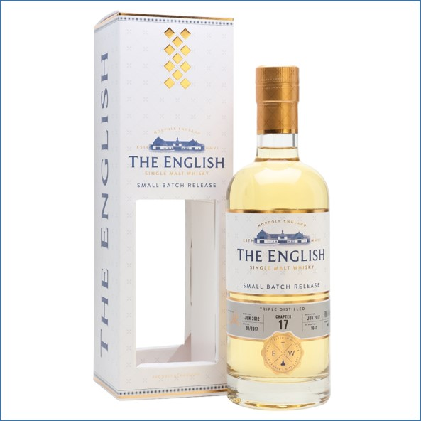 The English Whisky Small Batch Chapter 17 2012 Bot.2017 70cl 46%