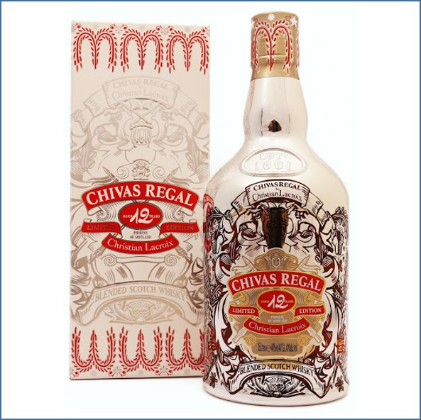 Chivas Regal 12 Year Old Christian Lacroix Magnum 2009 Blended Scotch Whisky 150cl 40%