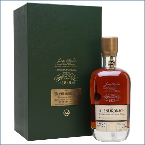 Glendronach Kingsman 1991 25 Year Old 70cl 48.2%