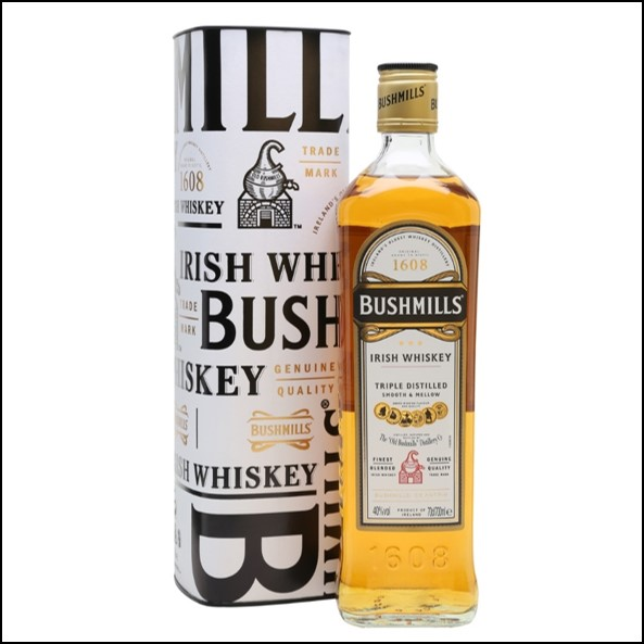 波希米爾愛爾蘭威士忌收購/ Bushmills Original Blended Irish Whiskey 70cl 40%