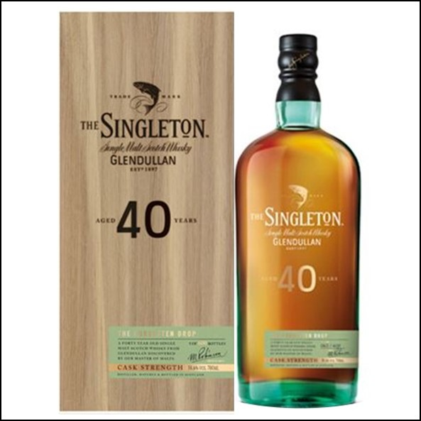 The Singleton of Glendullan Ord 40-year-old 2017 70cl 58.6% 蘇格登40年Glendullan收購