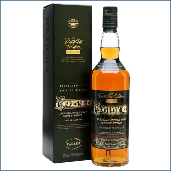 Cragganmore 2016 Distillers Edition 2004  Speyside Single Malt Scotch Whisky 70cl 40%