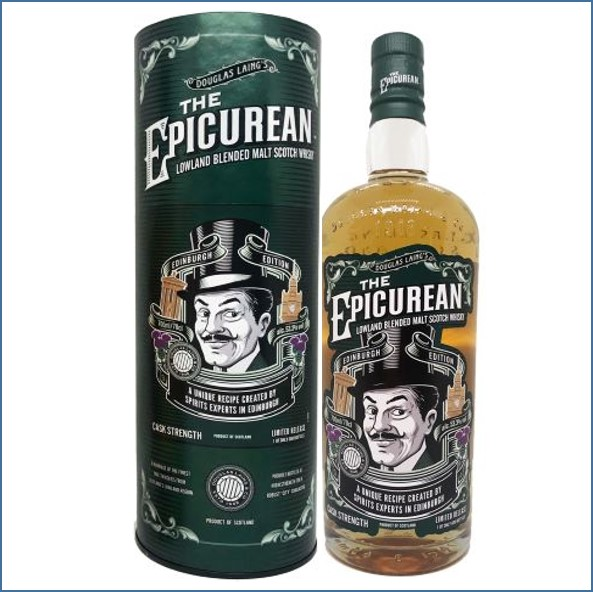 The Epicurean Edinburgh Cask Strength Limited Edition 53.3%