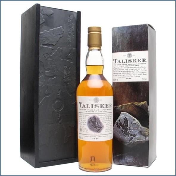 Talisker 10 Year Old Slate Gift Box 70cl 45.8%