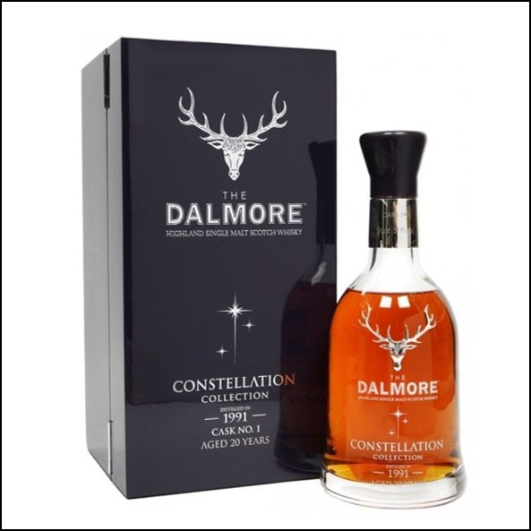 DALMORE CONSTELLATION 1991 20 Year Old Cask 1 70cl 53%  大摩20年威士忌收購 1991