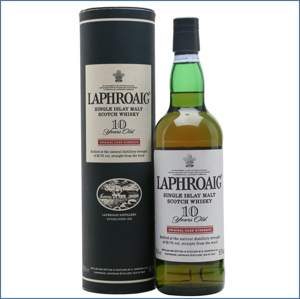 Laphroaig 10 Year Old Cask Strength 70cl 55.7%