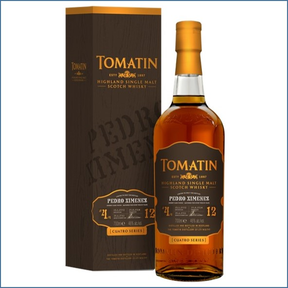 Tomatin Pedro Ximenez 2014 Limited Edition 70cl 46%